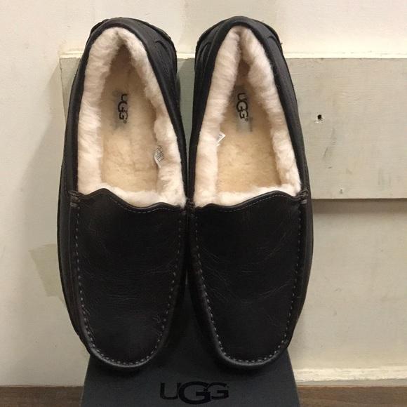 a0f523f939c Men s UGG Ascot Leather in China Tea. M 5be73b65035cf14888ecb36a